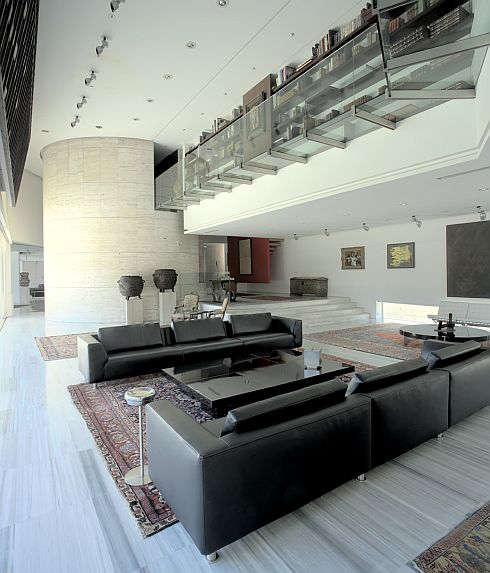 decoracoes de interiores de apartamentos:ELEGANTE CASA EM MADRI