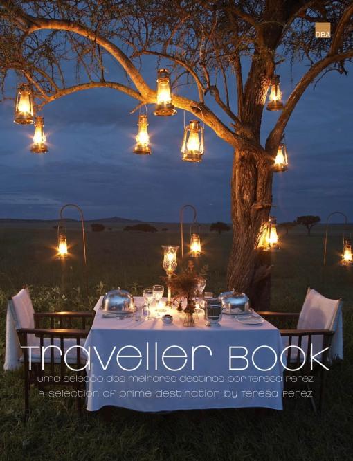 Capa livro Traveller Book Teresa Perez