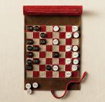 Jogo de Xadres Decorativo Canudo