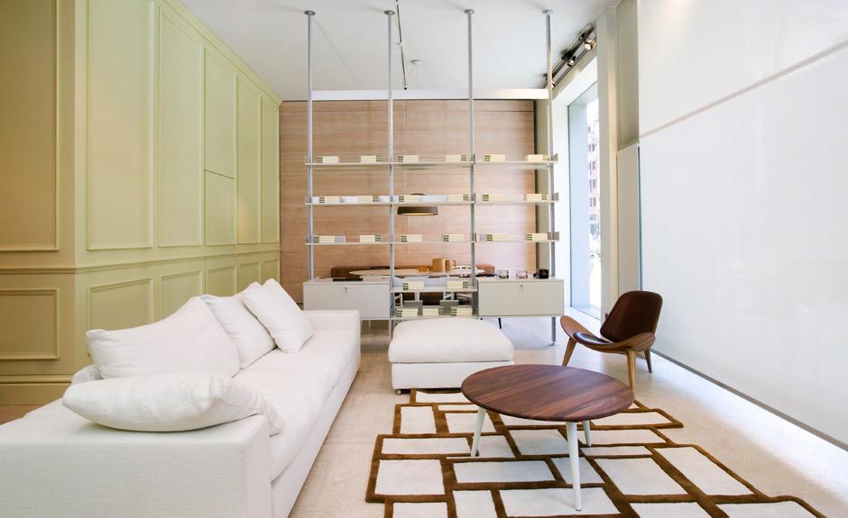 decoracao de interiores lojas:Spotti – Loja de Móveis – Milão 002