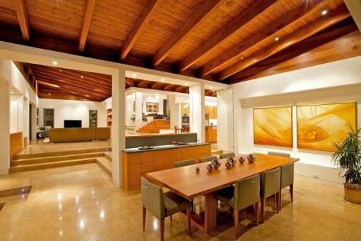 decoracao de interiores em casas de madeira:Arquitetura de casa e decoração de Interiores em San Diego 005
