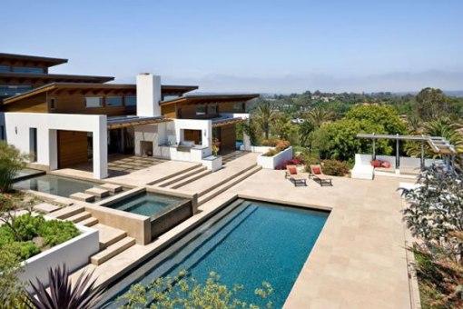 Arquitetura de casa e decoração de Interiores em San Diego 010