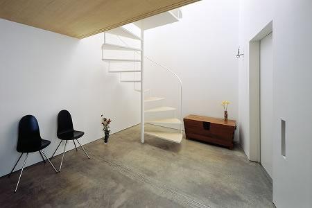 Arquitetura de casa mosaico com estilo minimalista Japão 003