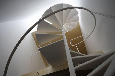 Arquitetura de casa mosaico com estilo minimalista Japão 004