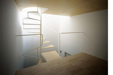 Arquitetura de casa mosaico com estilo minimalista Japão 005