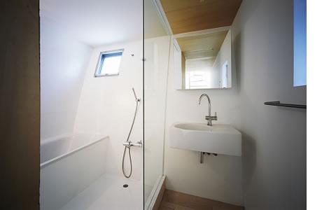 Arquitetura de casa mosaico com estilo minimalista Japão 007