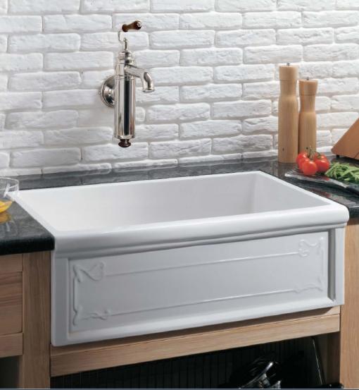 Cubas para decoração da cozinha no estilo classico 001