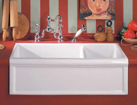 Cubas para decoração da cozinha no estilo classico 002