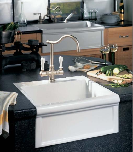 Cubas para decoração da cozinha no estilo classico 007