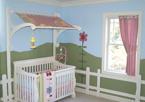 Decoração de quarto de bebe 003