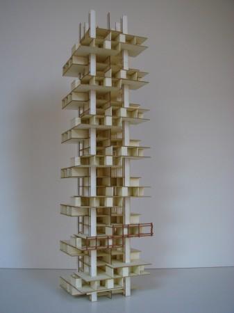 Projetos de Arquitetura Residentional Tower 004