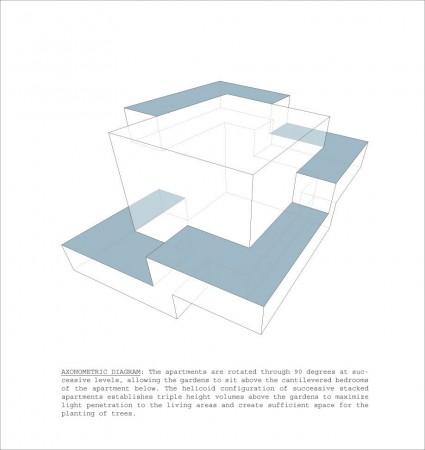 Projetos de Arquitetura Residentional Tower 008