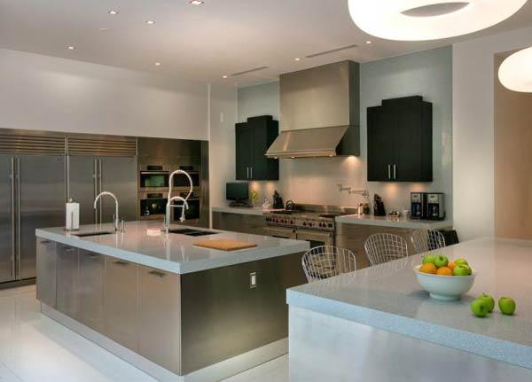 Arquitetura e Decoração de casa em Miami - dica de decoracao de  cozinha