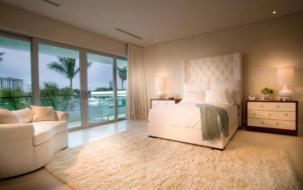 Arquitetura e Decoração de casa em Miami - dica de decoracao de  quarto de casal 2