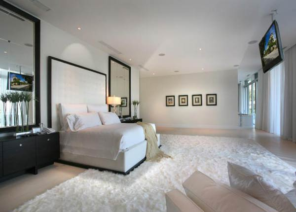 Arquitetura e Decoração de casa em Miami - dica de decoracao de  quarto de casal