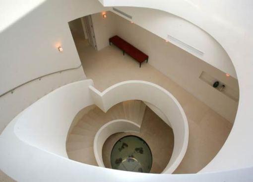 Arquitetura e Decoração de casa em Miami - dica de decoracao de interiores - escadaria