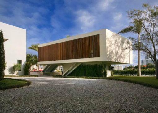 Arquitetura e Decoração de casa em Miami fundos da casa 02