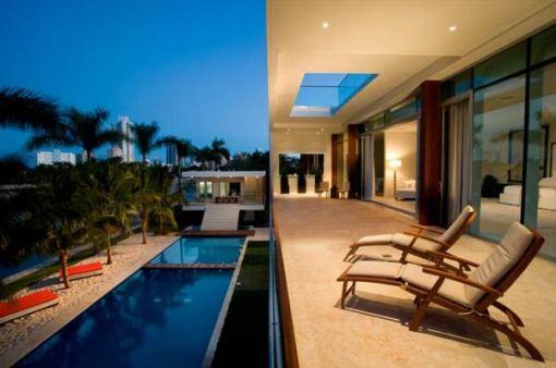 Arquitetura e Decoração de casa em Miami - vista