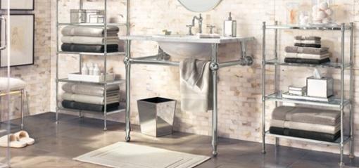 Decoracao de casa - dicas de decoração de banheiro com estilo vitoriano com um toque de decoracao moderna 2