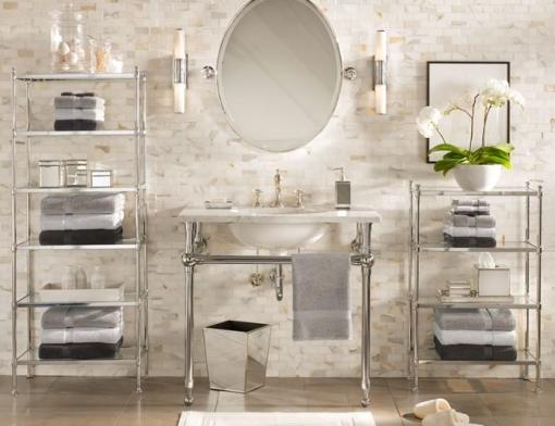 Decoracao de casa - dicas de decoração de banheiro com estilo vitoriano com um toque de decoracao moderna