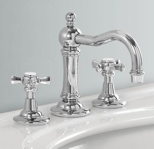 Decoracao de casa - dicas de decoração de banheiro com estilo vitoriano - misturador victoriano