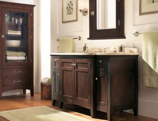 Decoracao de casa - dicas de decoração de banheiro com moveis antigos