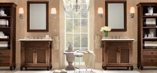 Decoracao de casa - dicas de decoração de banheiro com tons pasteis