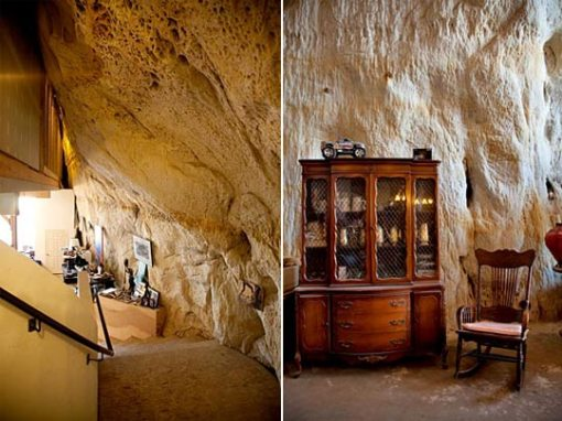 Decoração e arquitetura de casa em caverna 004