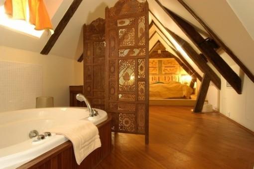 Dica de decoração de banheiro no sotão com dica de decoração de quarto