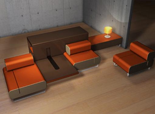 Dica de decoração de cozinha e sala de estar moderna 001