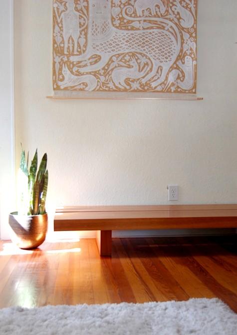 Dica de decoração de Sala de estar com vaso de flores 003