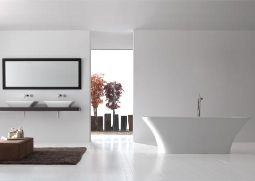 Dicas de decoracao de banheiro com banheira moderna Ravello