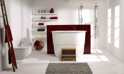 Dicas de decoracao de banheiro com banheira moderna 4
