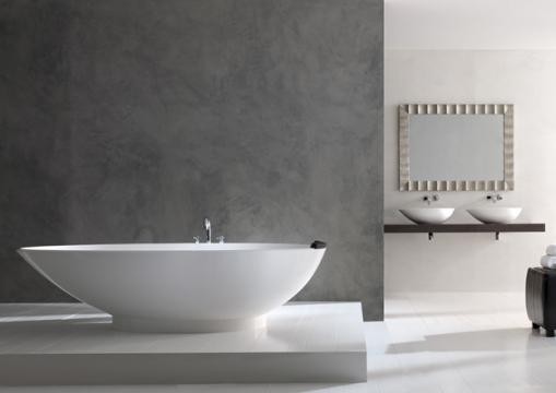 Dicas de decoracao de banheiro com banheira moderna Amalfi