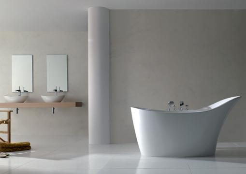 Dicas de decoracao de banheiro com banheira moderna 6