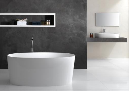 Dicas de decoracao de banheiro com banheira moderna Ios