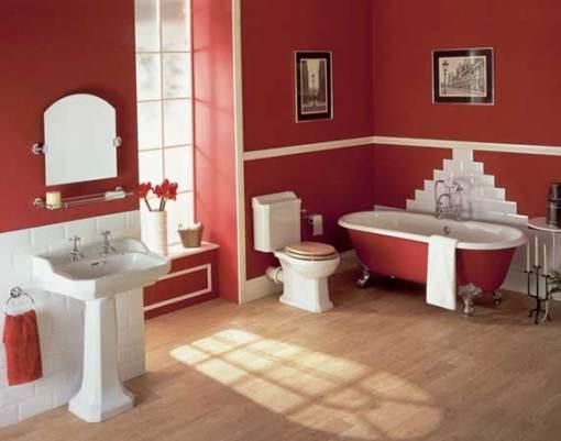 Dicas de decoracao de banheiro com banheira vitoriana Cheshire