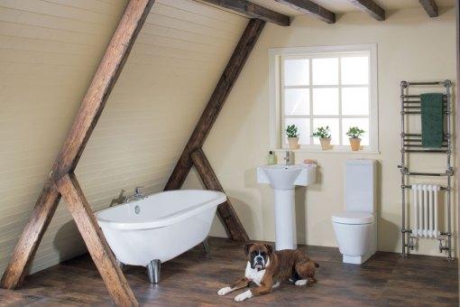 Dicas de decoracao de banheiro com banheira vitoriana 3