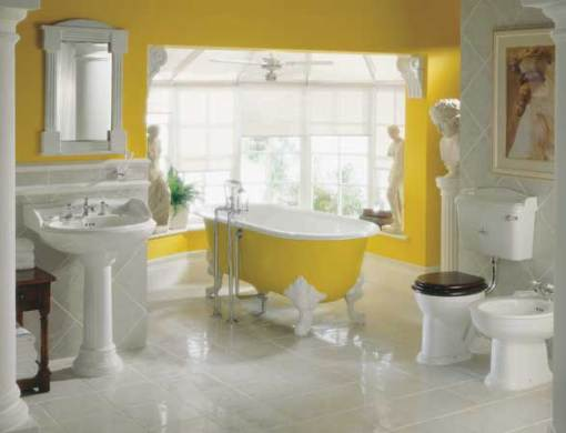 Dicas de decoracao de banheiro com banheira vitoriana Victoria