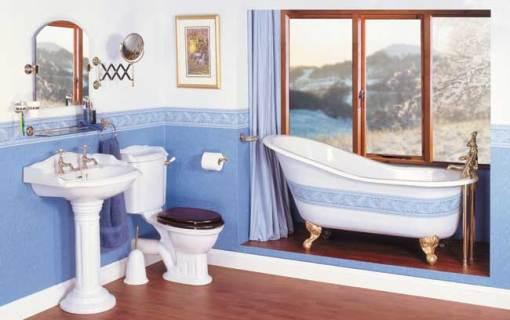 Dicas de decoracao de banheiro com banheira vitoriana Slipper