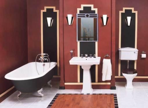 Dicas de decoracao de banheiro com banheira vitoriana Victoria Preta