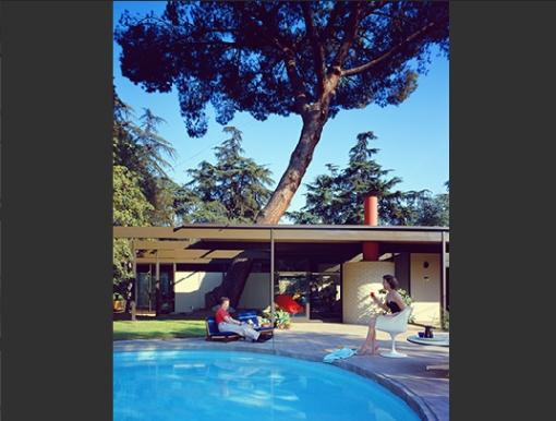Foto de Arquitetura modernista por Julius Shulman 005