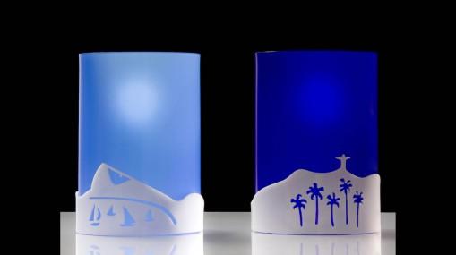 Peças de decoração e design por Joana Angert - Luminária Rio de Janeiro