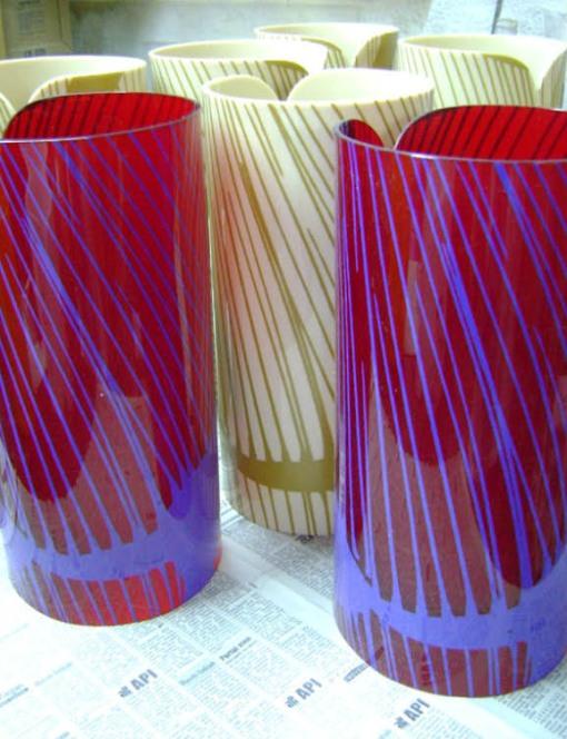 Peças de decoração e design por Joana Angert - Luminária 002