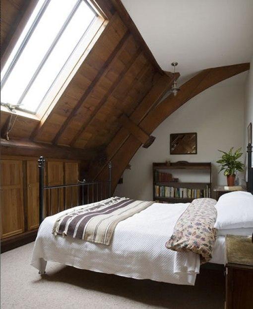 Arquitetura e decoração de casa em igreja - decoração quarto Casal - Suite master