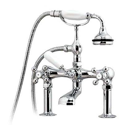 Decoração de Banheiro - Misturador para banheira victoriana