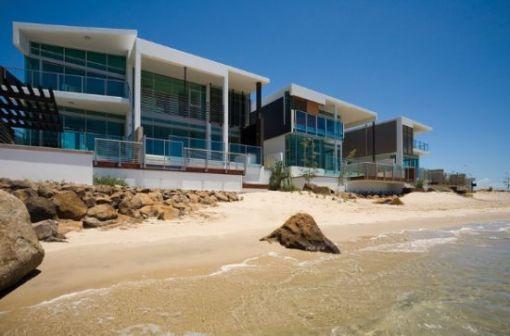 Dica de decoração - Arquiterura e decoração de casa na Gold Coast - Apartamento de a beira do mar