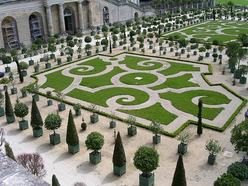 Dicas de decoracao para casa - Decoração de Jardim - Decoração do Jardim do Palácio de Versalhes 003