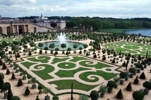 Dicas de decoracao para casa - Decoração de Jardim - Decoração do Jardim do Palácio de Versalhes 006