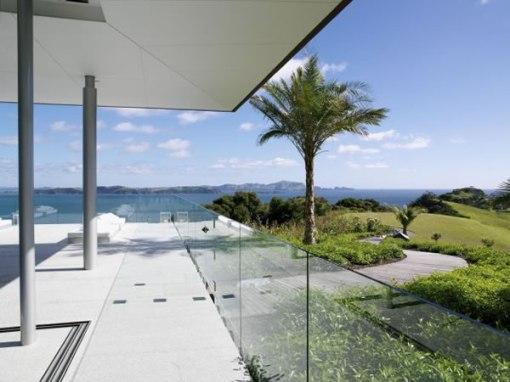 Arquitetura de casa na nova zelandia - dica de decoração de area externa - jardim